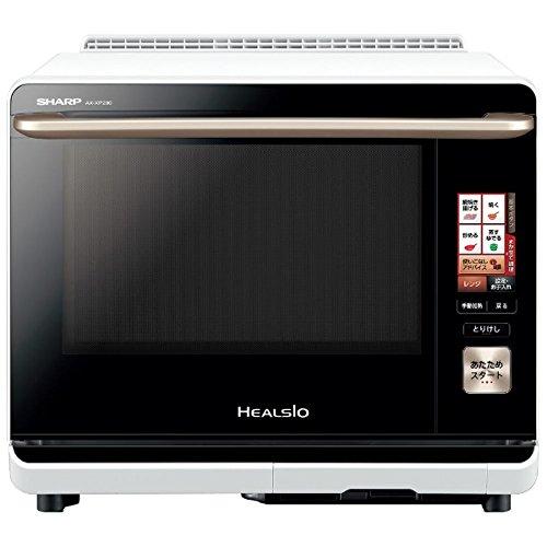 シャープ ウォータオーブン ヘルシオ(HEALSIO) 30L 2段調理 ホワイト AX-XP200-W