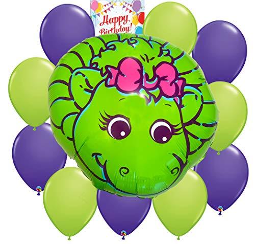 Barney Baby Bop Party Supplies Big Balloon Decoration Bundle