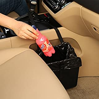 KMMOTORS Jopps Comfortable Car Garbage Bin Original Patented Portable Drive Bin Premium Hanging Wastebasket