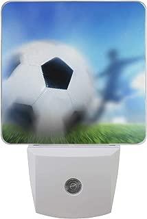Shadow Hitting Ball LED Night Light Lamp with Dusk to Dawn Sensor for Bedroom Bathroom Hallway Stairways