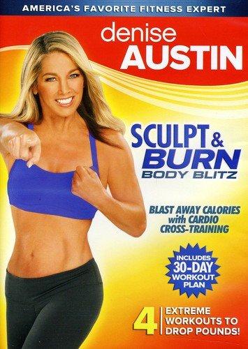 Denise Austin: Over item handling Sculpt Blitz Body Burn NEW before selling