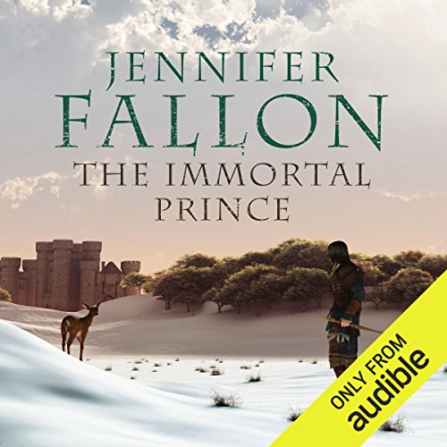 The Immortal Prince audiobook cover art