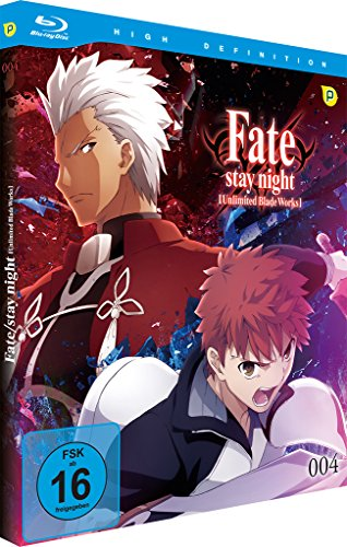 Fate/stay night: Unlimited Blade Works - Vol.4 - [Blu-ray] Limited Edition