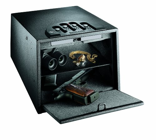 GunVault GV2000C-DLX Multi Vault Deluxe Gun Safe,Black