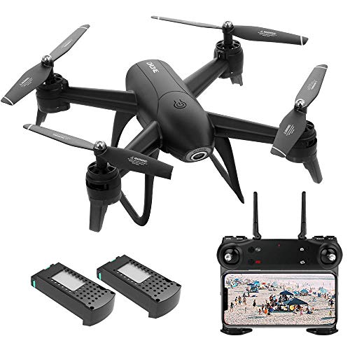 GoolRC Drone with Dual Camera 22 Min Flight SG106 Optical Flow 4K Wide Angle WiFi FPV Altitude Hold Gesture Photography Quadcopter