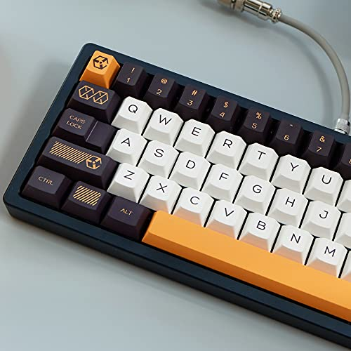PBT keycap Cherry Profile 140 Keys Dye Sublimation ANSI Layout Keycap for...