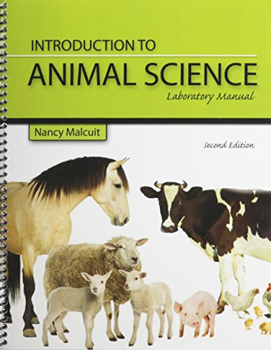 Introduction to Animal Science An Sci 101 Laboratory Manual