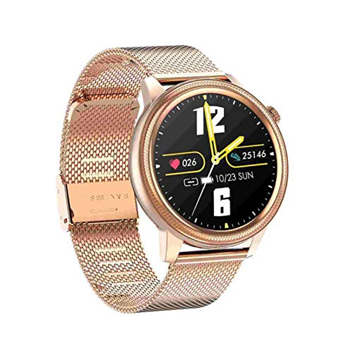 S31 Bluetooth Smart Watch Men's Impermeable ECG + PPG Pulsera con Cronómetro Sphygmomanómetro Rastro Cardíaco Fitness Tracker Pulsera para Android iOS,B