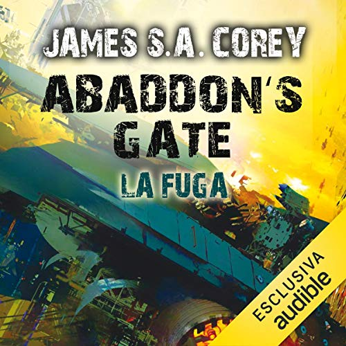 Abaddon's Gate - La fuga cover art