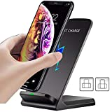 Wireless Charger Stand for Samsung Galaxy Note 20/20 Ultra/10+/9/8/S20 Ultra/S7 S8 S9 S10+