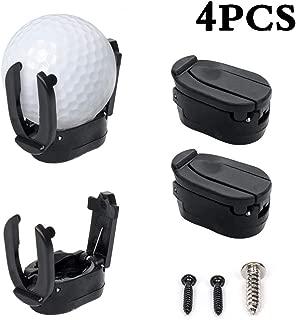 INHEMI Golf Ball Pick Up Tool Saver Putter Grip Retrievers Mini Plastic Claw Grabber Sucker Golf Accessories -Black