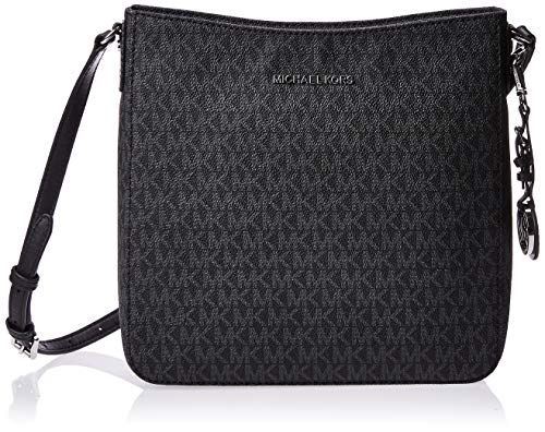 MICHAEL Michael Kors Jet Set Travel Large Logo Messenger (Schwarz)