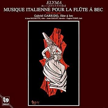 Italian Music for Flute Recorder