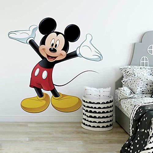 FDSA Etiqueta de la pared Mickeys Clubhouse Mickey Mouse gigante etiqueta de la pared