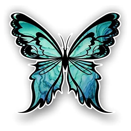 6-Inches, Hot Pink JMM Industries Heart with Butterflies Flying Away Vinyl Decal Sticker Car Window Bumper Die Cut 6-Inches Premium Quality UV Resistant Laminate JMM00265HTPNK6