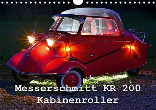 Messerschmitt KR 200 Kabinenroller (Wandkalender 2020 DIN A4 quer): nur fliegen ist schöner (Monatskalender, 14 Seiten ) (CALVENDO Mobilitaet)