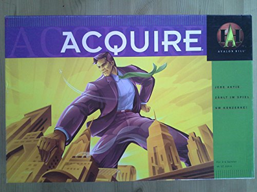 Avalon Hill 41305100 - Acquire