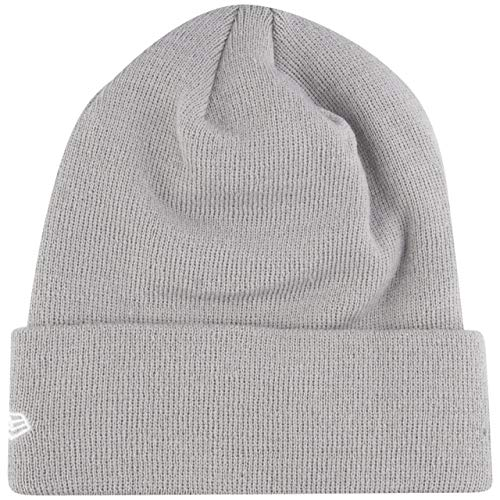 New Era Wintermütze Beanie - Essential Knit Cuff grau