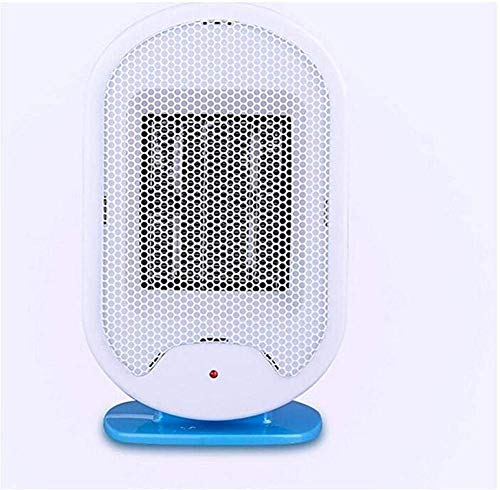 Jieer Calentador de Ventilador, pequeños electrodomésticos Calentador de Ventilador eléctrico Vertical Calentador eléctrico Ventilador doméstico Mini Calentador de Estudiante Radiador silencioso 500W