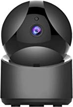 SportMonster HD Security Camera, Wireless Home Security Surveillance WiFi Camera with Motion Detection, Pan/Tilt, Night Vision and Two Way Audio, Baby/Pet Monitor and Nanny Cam, Updated-Black