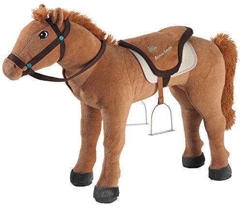 Preisvergleich Produktbild Bibi & Tina 736375 Plüschtier,  Pferd,  Reittier,  braun