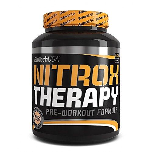 Nitrox Therapy Uva blu 680g - preallenamento Booster professionale - BiotechUSA