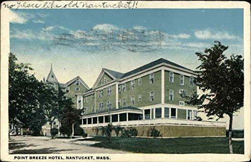 Point Breeze Hotel Nantucket, Massachusetts MA Original Vintage Postcard 1921
