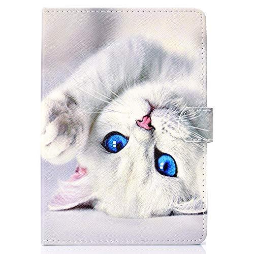 XTstore Funda Universal Tablet 9-10.1 Pulgadas, Smart Case Cover Carcasa Protectora para iPad Air 10.5,Samsung Tab A 10.1/Tab E 9.6',Huawei MediaPad T3/T5 10, Lenovo TB-X103F/Tab4 10, Gato