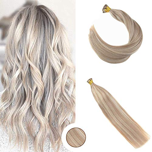 Ugeat 14-inch I-Tip Fusion Hair Extensions