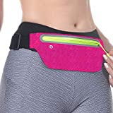 GLBSUNION Best Running Belt, Ultra Light Bounce Free Waist Pouch Workout Sport Pack