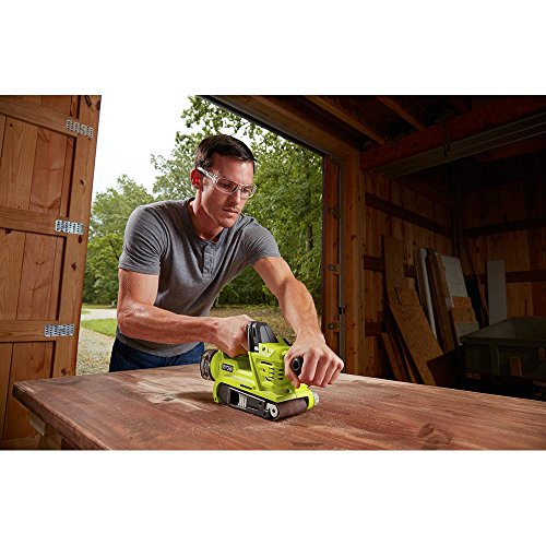 Ryobi 18-Volt ONE+ Belt Sander Kit with 4.0Ah Lithium-Ion Plus Battery, Charger and Bag