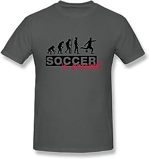 Men's Soccer Is Passion F2 T-Shirt DeepHeather