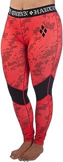 Women's Harley Quinn Full Length Active Leggings Size