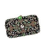 Liuxiaomiao - Bolso de mano para mujer, ideal para fiestas, bailes, bodas, fiestas, bodas, fiestas, bodas, fiestas, etc.