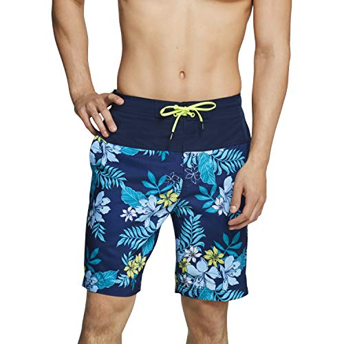 Speedo Men's Swim Trunk Knee Length Boardshort Bondi Printed