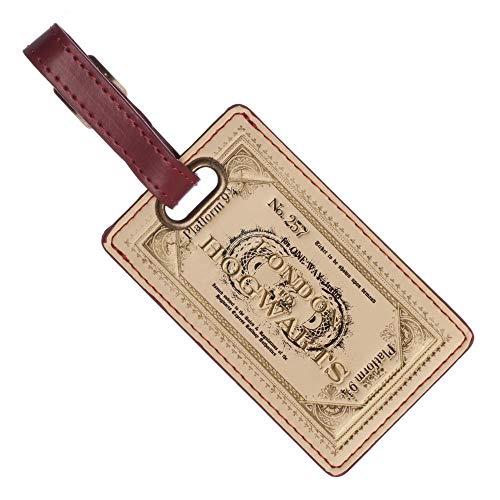Harry Potter Hogwarts Ticket Luggage Tag