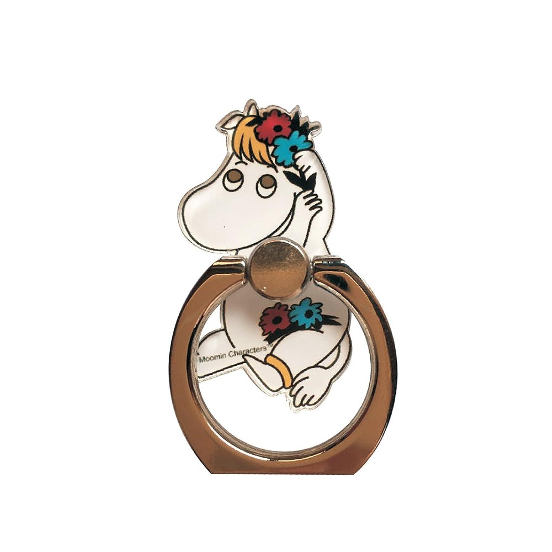 Moomin ムーミン スマホリング スマートフォン用ホルダーリング スノークのおじょうさん 北欧雑貨