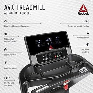 Reebok A4.0 Treadmill - Silver - 120V