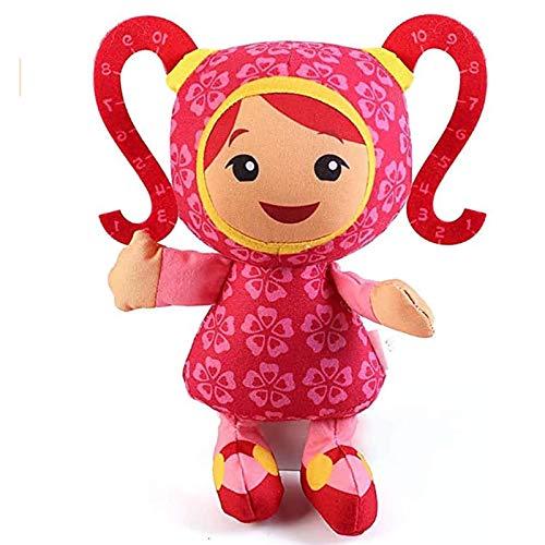 Huangjiaju 3 PCS Team Umizoomi muñeco de Peluche de Juguete para niños