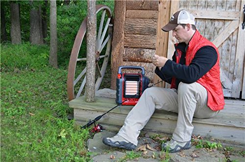 Mr. Heater Portable Buddy Propane Heater, red, M
