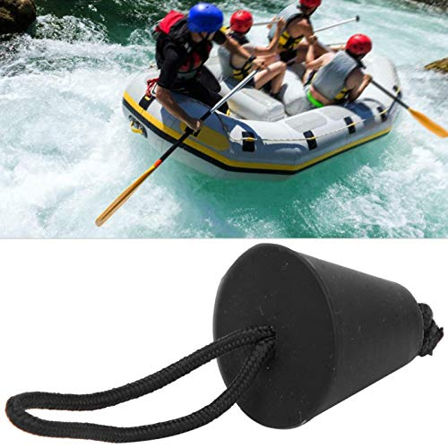 SALUTUYA Enchufe Scupper Ligero, para Kayak Bote Hinchable(Black)