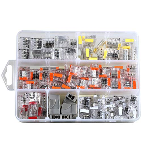 pequeñas ViD connection terminal ASSORTMENT 200 pieces, 0.5-2.5mm², VDE and ENEC certified