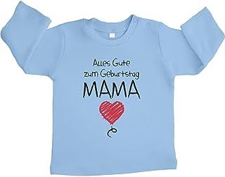 Shirtgeil Alles Gute Zum Geburtstag Mama Geschenk Unisex Baby Langarmshirt