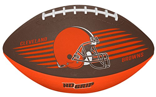 Rawlings NFL Cleveland Browns 07731064111NFL Downfield Football (All Team Options), Orange, Youth Cleveland Browns Nfl Pattern