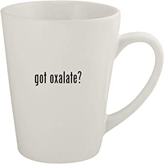 got oxalate? - Ceramic 12oz Latte Coffee Mug