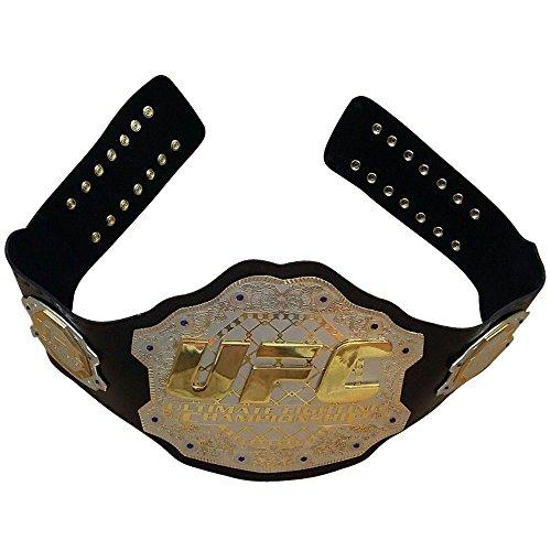 UFC Championship - Cinturón réplica de cinturón de piel auténtica para adulto