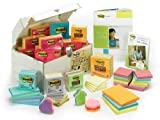 Post-it Notes, America's #1 Favorite Sticky Notes, Assorted 10 Pound Variety Pack of Notes for Teachers (Teachers Treasure Chest)