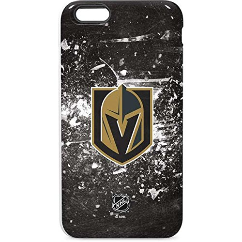 Skinit Pro Phone Case Compatible with iPhone 6/6s Plus - Officially Licensed NHL Vegas Golden Knights Frozen Design
