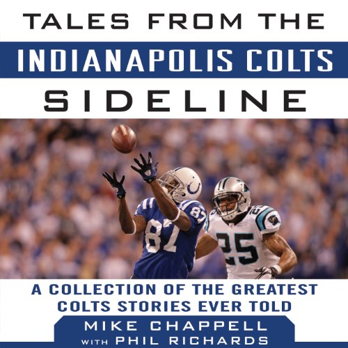 Tales from the Indianapolis Colts Sideline audiobook cover art
