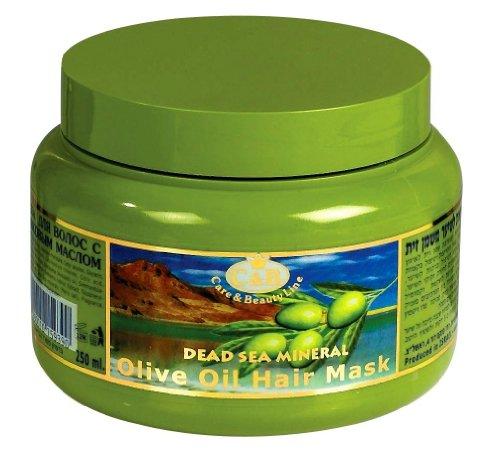 C & B mar muerto aceite de oliva salud máscara para cabello 250ml/8.45oz Care Spa Israel Mineral